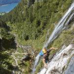 Klettersteig am Dalfazer Wasserfall - Bild: Achensee Tourismus
