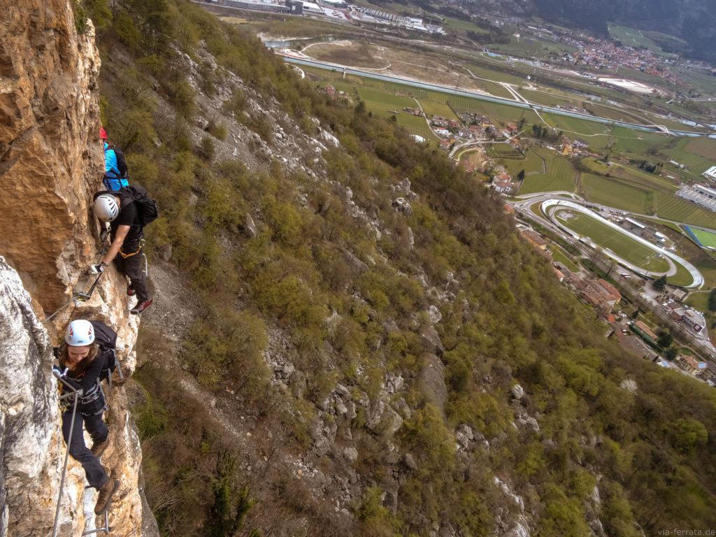 Klettersteige Gardasee : Gardasee u via ferrata klettersteige