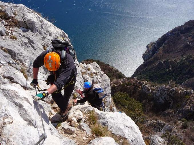 Klettersteig Gardasee : Die schönsten klettersteige am gardasee Übersichtskarte