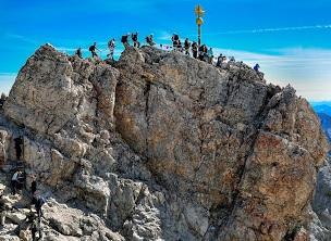 Klettersteig Garmisch : Klettersteige garmisch partenkirchen u via ferrata