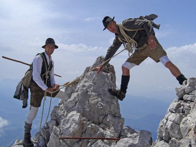 Klettersteig Ramsau : 170 jahre dachstein klettersteig