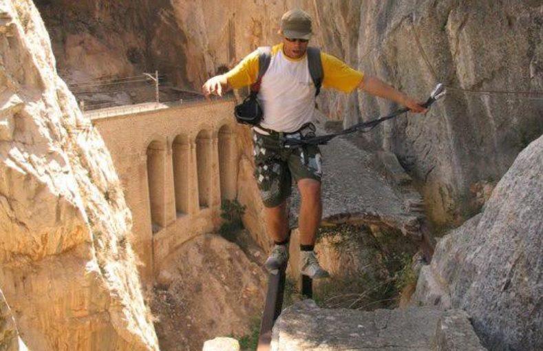 Klettersteig Caminito Del Rey : Camino del rey u2013 es war einmal der gefährlichste wanderweg welt