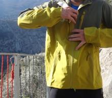 GORE® WINDSTOPPER® Jacke mit leichtem Regenschutz