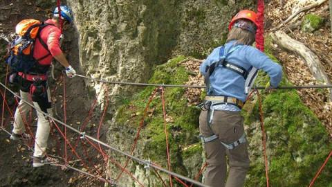 Die 10 schönsten Klettersteige für Familien