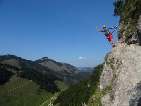 Klettersteig Walchsee : Walchsee via ferrata klettersteige