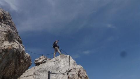 Klettersteig Irg und Klettersteig Koppenkarstein Westgrat neu trassiert