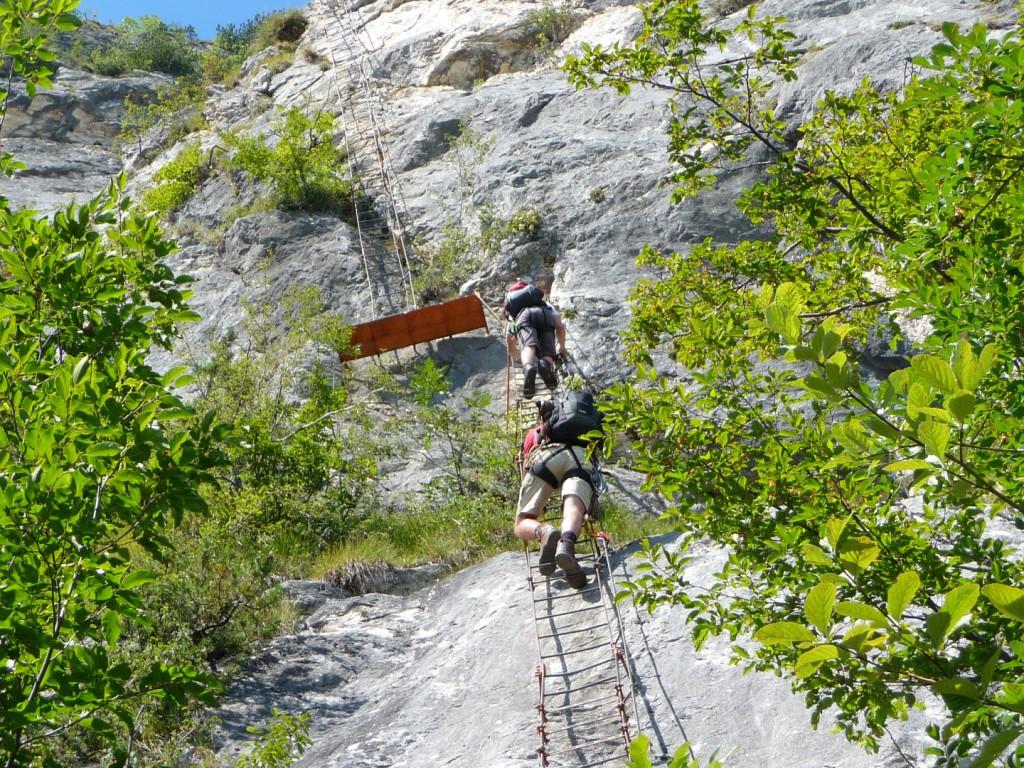 Klettersteig Riva Del Garda : Klettersteig cima sat riva del garda youtube