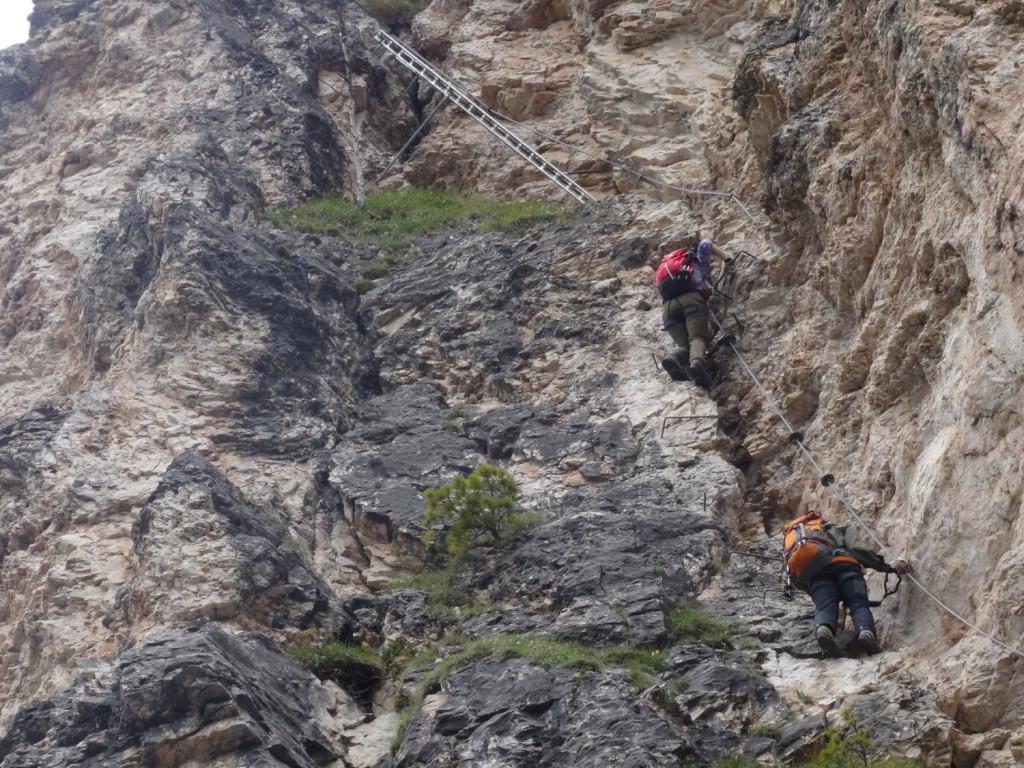 Klettersteig Ferrata : Mauerläufersteig klettersteig ferrata alpspitze youtube