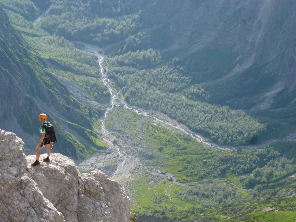 Klettersteigset Watzmann : Tödlicher absturz in der watzmann ostwand