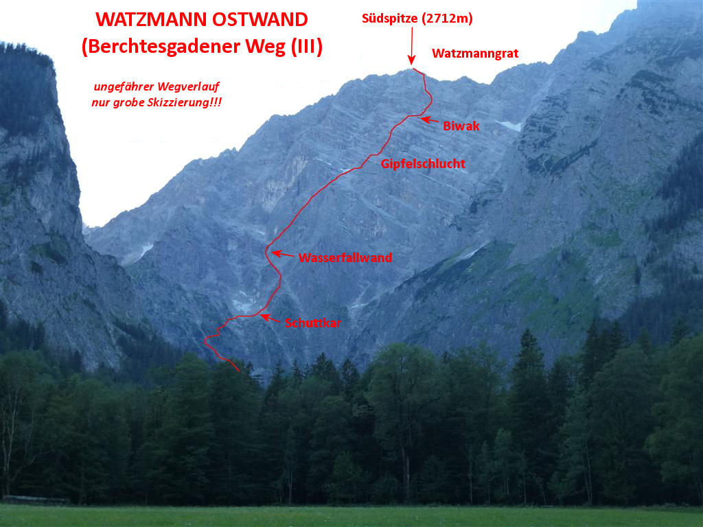 Watzmann Unfall