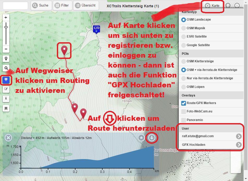 GPS Routenplaner