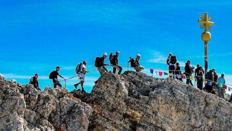 Klettersteigset Globetrotter : Vorsorgliche sicherheitsüberprüfung skylotec skysafe ii klettersteigset