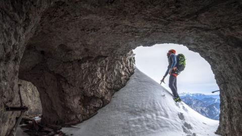 Kletterroute Eisenzeit – Vom Riffelriss auf die Zugspitze