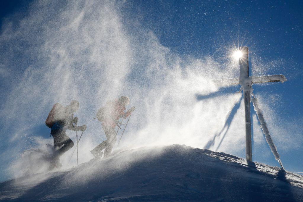 Schneeschuhwandern - Bild: Herbert Raffalt