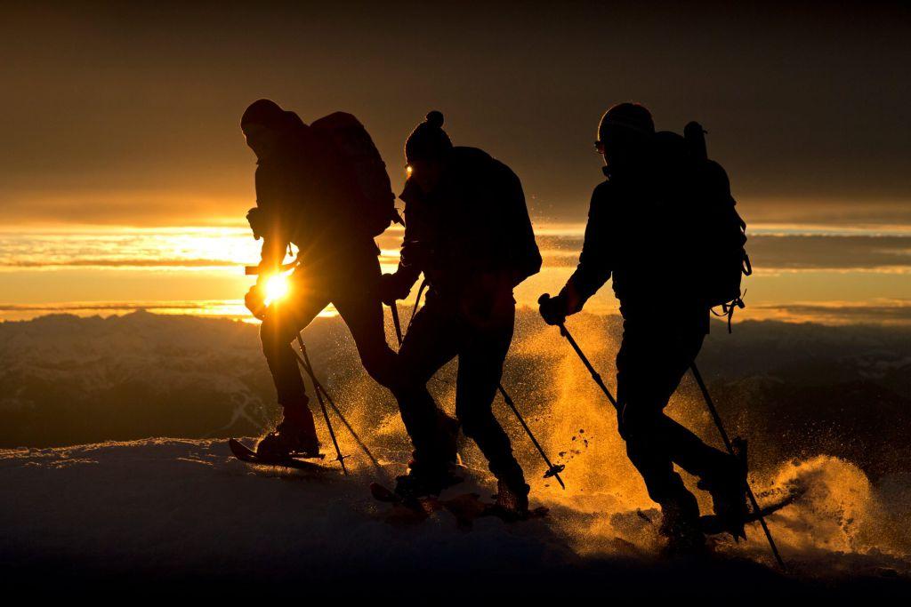 Schneeschuhgehen Technik - Bild: Herbert Raffalt