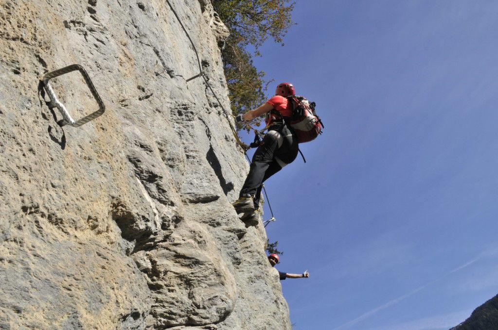 Klettersteig Zillertal : Zillertal klettersteig huterlaner und zimmereben