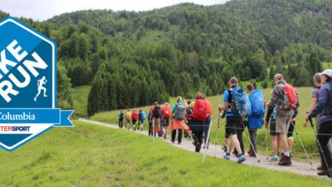Columbia Hike & Run Event