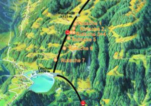 Karte Waldrutschenpark