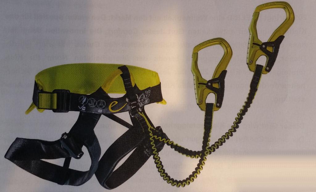 Klettersteigset Edelrid Jester : Edelrid jester comfort u via ferrata klettersteige