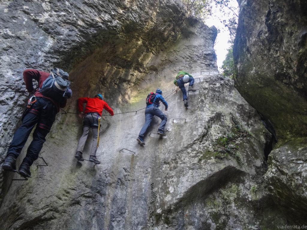 Klettersteig Rating : Die besten schluchten klettersteige u2013 schluchtensteige für heiße tage