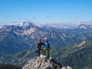 Auf dem Gipfel des Taubenstein