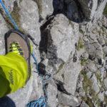 Klettern im leichten Fels