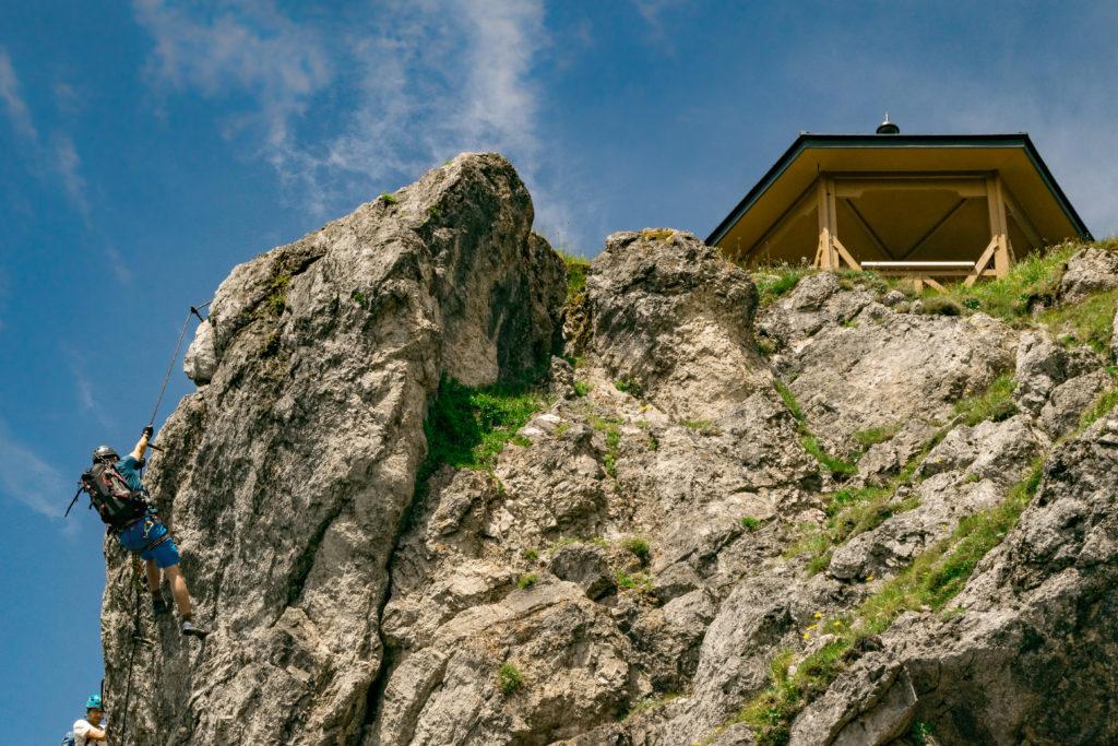 Gipfel Pavillon des Stripsenkopfes
