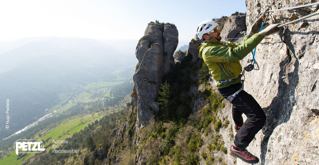 Klettersteigset Sports Direct : Neue klettersteigset norm en u interview mit petzl