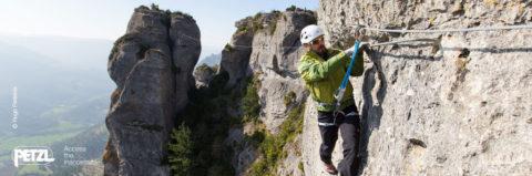 neue Klettersteigset Norm EN 958 – Interview mit PETZL