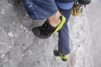 Kletterschuh LOWA ROCKET in Action_-® LOWA_Julian Ho+ƒ, Johannes Gaude