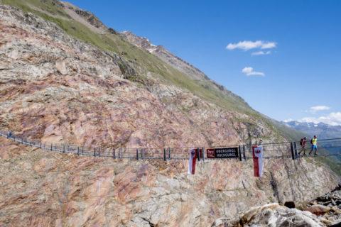 Neue lange Hängebrücke im Ötztal eröffnet