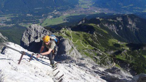 Alpspitz Ferrata –  Tourenplaner GaPa