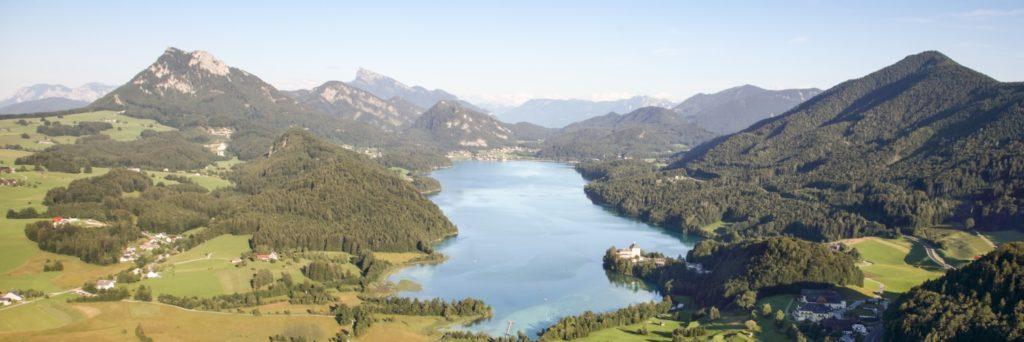 Fuschlsee-Panorama -®Fuschlsee Tourismus