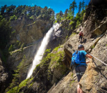Klettersteig Lehner Wasserfall (➡oetztal.com)