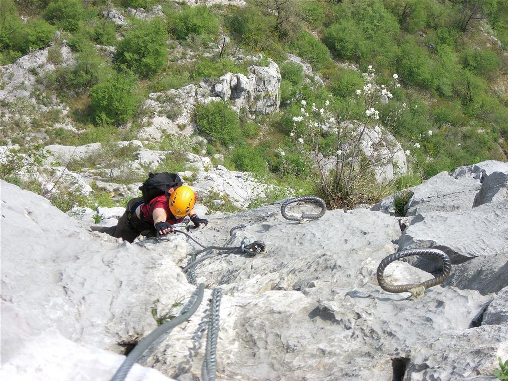 Klettersteig Rating : Klettersteige comer see