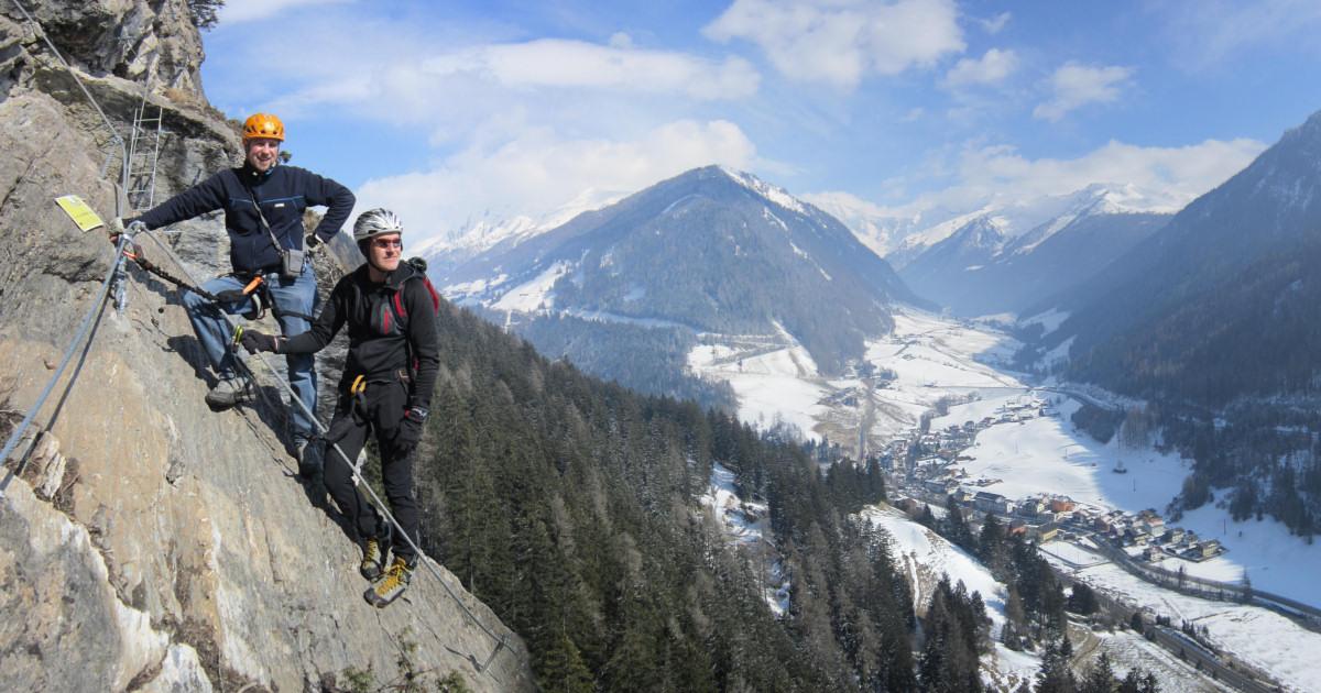 Klettersteig Tirol : Welche klettersteige sind bereits offen und begehbar