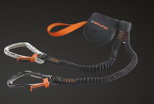 Klettersteigset Nach Sturz : Skylotec klettersteigsets mit two step system