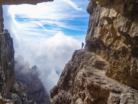 Klettersteig Via Ferrata : Klettersteige am gardasee nervenkitzel mit seeblick spiegel online