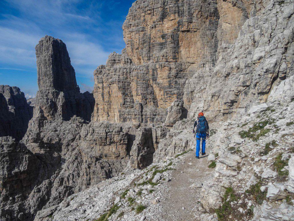Klettersteig Yosemite : Der bocchette weg u2013 klettersteig traumtour brenta dolomiten