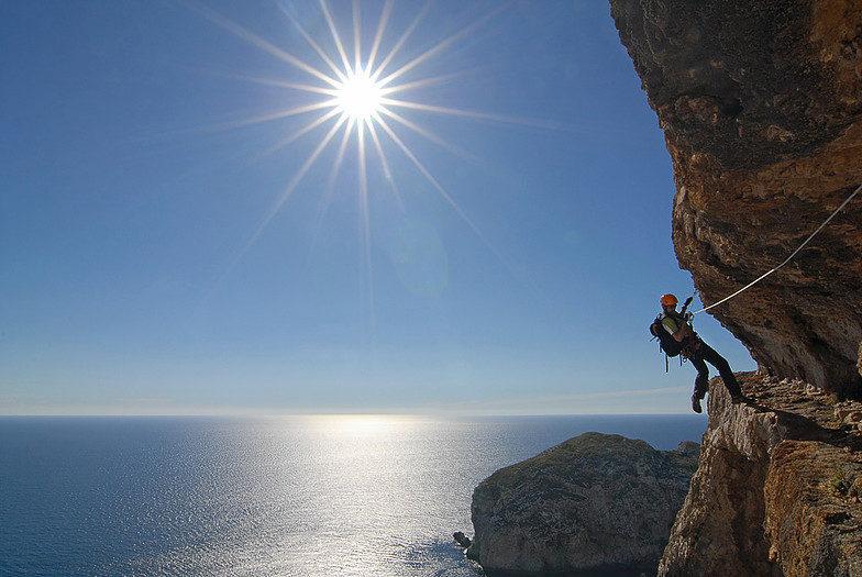 Klettersteig Italien : Arabba klettersteig cesare piazzaetta dolomiten
