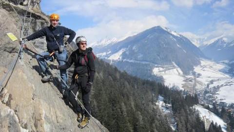 Klettersteig Johann Topo : Klettersteige ↔ klettersteig touren mit karte und topo via ferrata.de