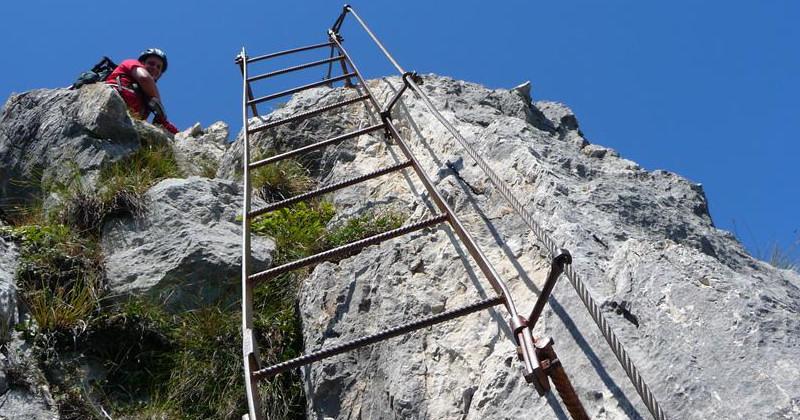 Klettersteig Set Wien : Klettersteige für anfänger in den alpen bergwelten